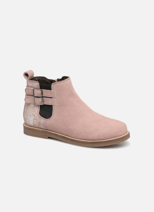 Ankle boots I Love Shoes KELINE 2 Leather Pink detailed view/ Pair view