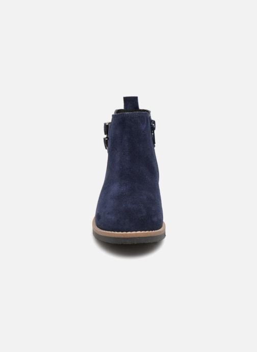 Ankle boots I Love Shoes KELINE 2 Leather Blue model view