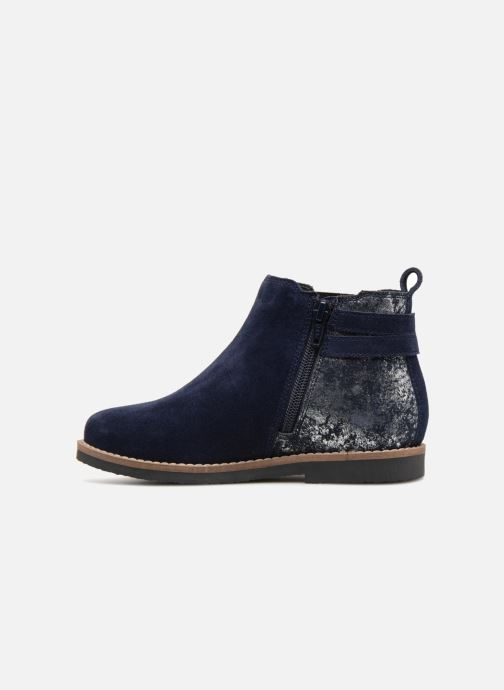 Ankle boots I Love Shoes KELINE 2 Leather Blue front view