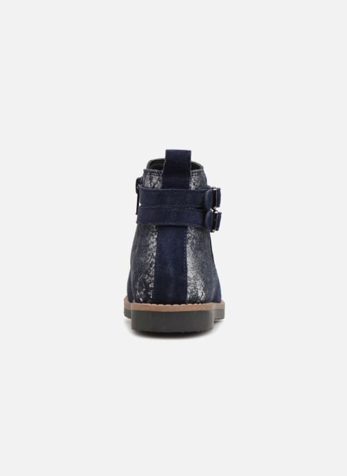 Ankle boots I Love Shoes KELINE 2 Leather Blue view from the right