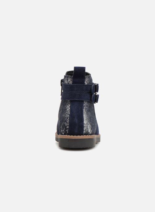 Botines  I Love Shoes KELINE 2 Leather Azul vista lateral derecha
