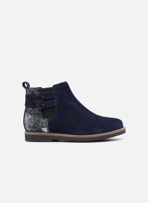 Ankle boots I Love Shoes KELINE 2 Leather Blue back view