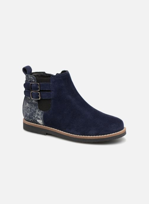 Ankle boots I Love Shoes KELINE 2 Leather Blue detailed view/ Pair view