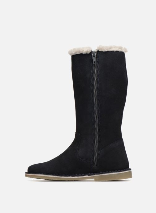 Botas I Love Shoes KEBOTTA Leather Azul vista de frente