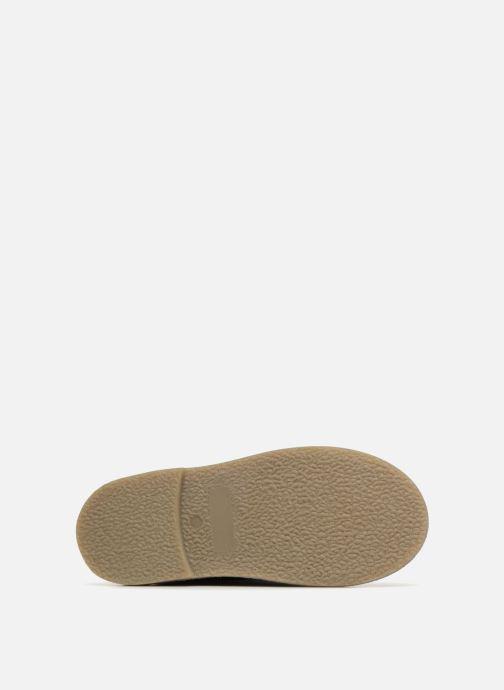 Bottes I Love Shoes KEBOTTA Leather Bleu vue haut