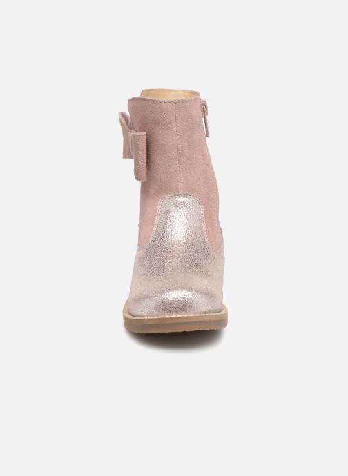 Stivali I Love Shoes SELMIE Leather Fourrée Rosa modello indossato