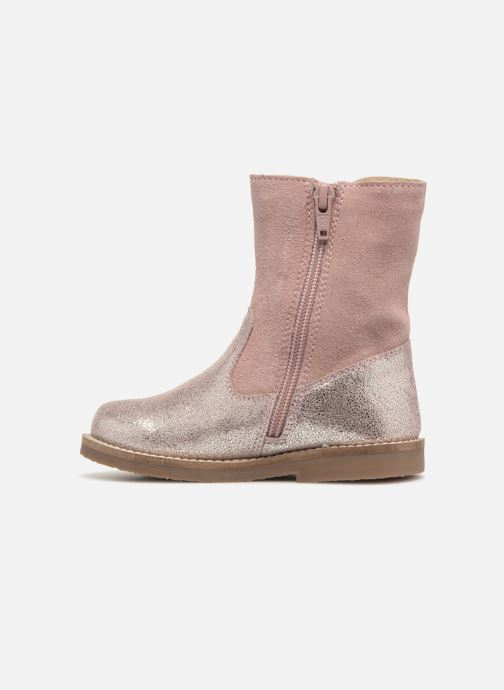 Boots & wellies I Love Shoes SELMIE Leather Fourrée Pink front view