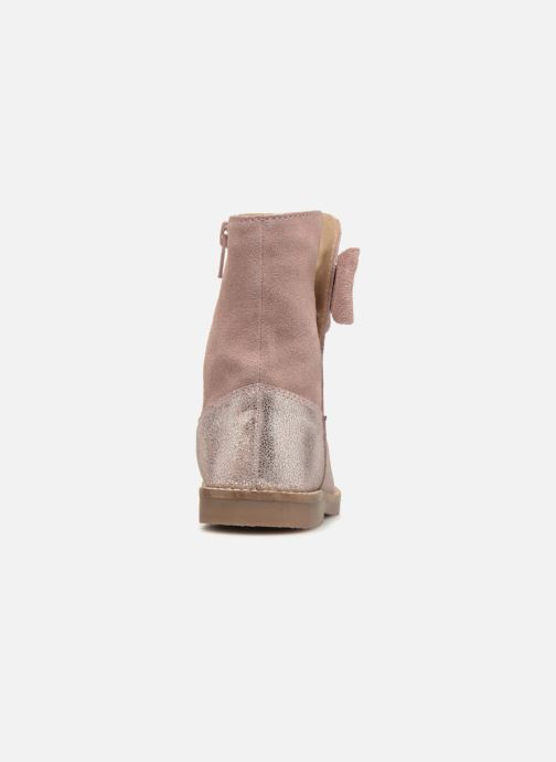 Boots & wellies I Love Shoes SELMIE Leather Fourrée Pink view from the right