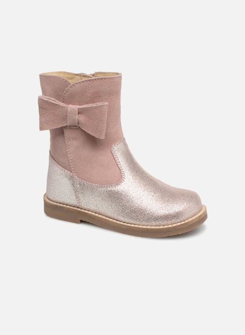 Boots & wellies I Love Shoes SELMIE Leather Fourrée Pink detailed view/ Pair view