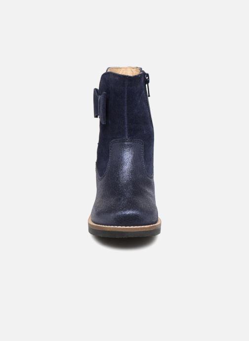 Bottes I Love Shoes SELMIE Leather Fourrée Bleu vue portées chaussures