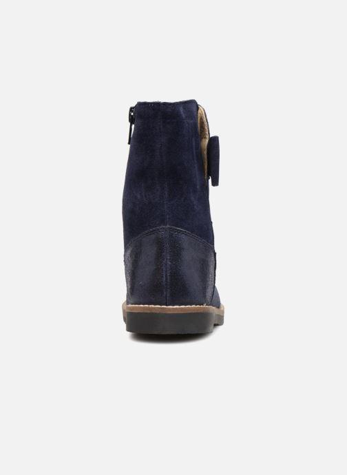 Bottes I Love Shoes SELMIE Leather Fourrée Bleu vue droite