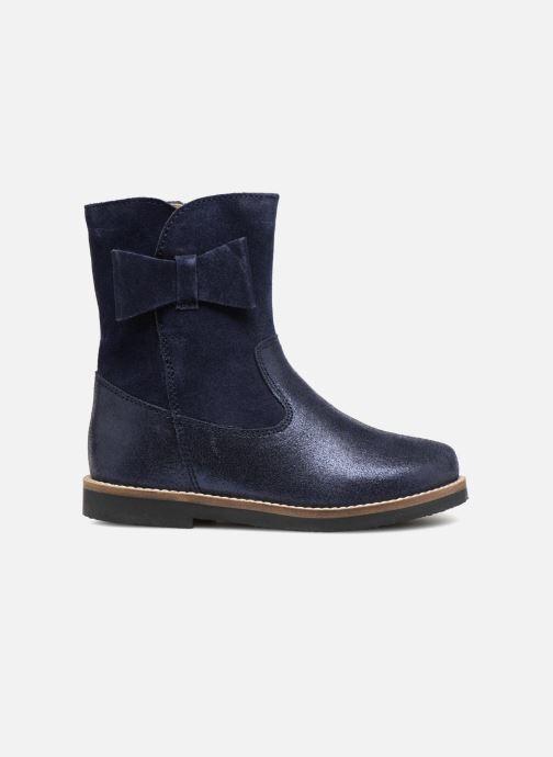 Bottes I Love Shoes SELMIE Leather Fourrée Bleu vue derrière