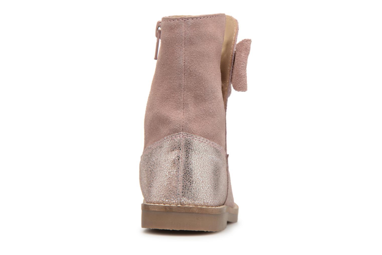 Bottes I Love Shoes SELMIE Leather Fourrée Rose vue droite