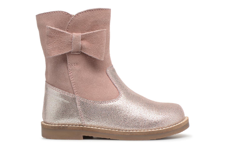 Bottes I Love Shoes SELMIE Leather Fourrée Rose vue derrière