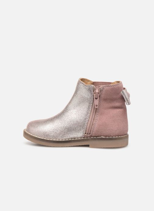 Ankle boots I Love Shoes KERBILLE Leather Beige front view