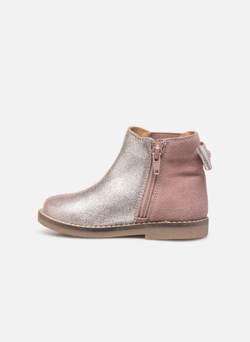 Stivaletti e tronchetti I Love Shoes KERBILLE Leather Beige immagine frontale