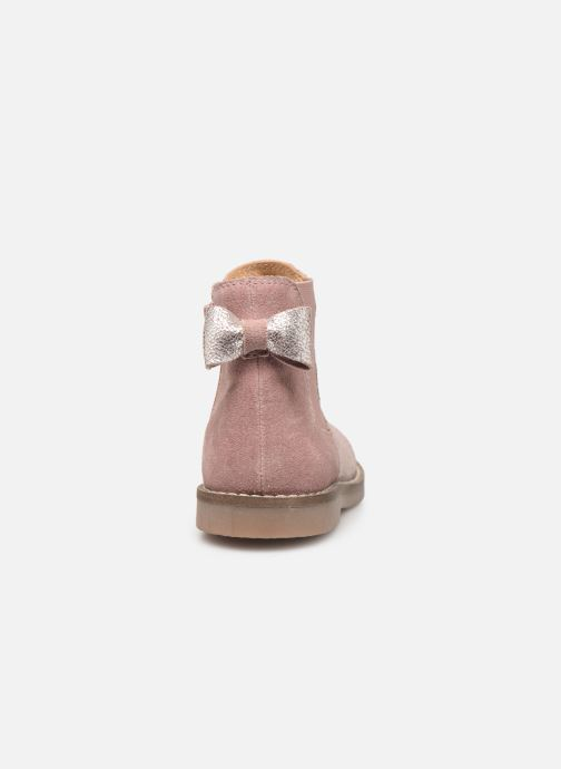 Ankle boots I Love Shoes KERBILLE Leather Beige view from the right