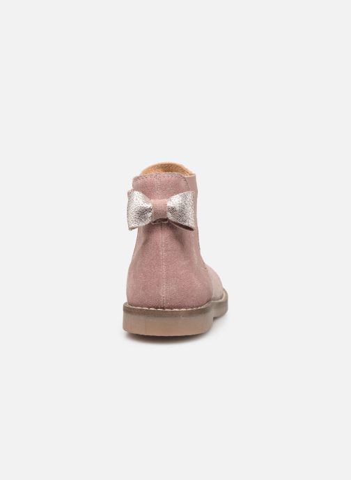 Stivaletti e tronchetti I Love Shoes KERBILLE Leather Beige immagine destra
