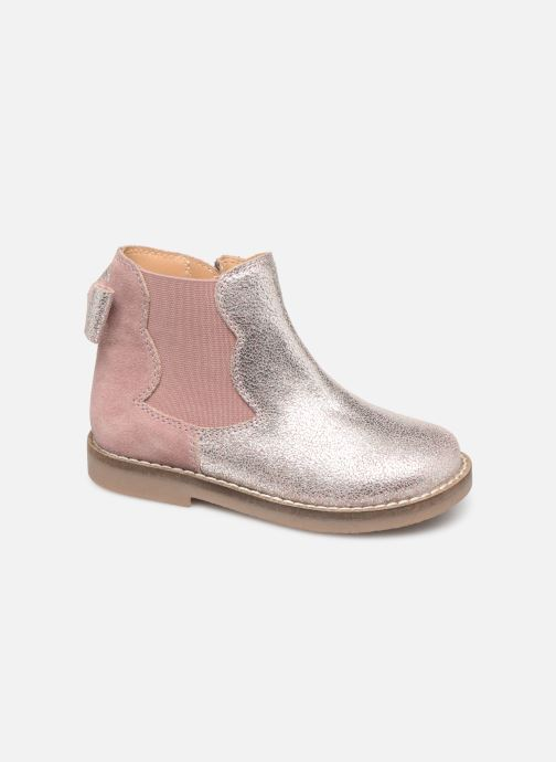 Ankle boots I Love Shoes KERBILLE Leather Beige detailed view/ Pair view