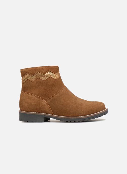 Boots en enkellaarsjes I Love Shoes KEZIG Leather Bruin achterkant