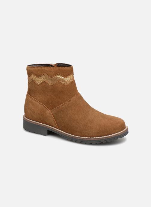 Boots en enkellaarsjes I Love Shoes KEZIG Leather Bruin detail