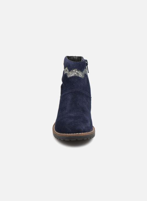 Stivaletti e tronchetti I Love Shoes KEZIG Leather Azzurro modello indossato