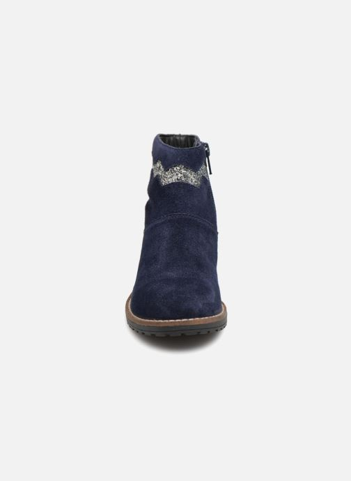Botines  I Love Shoes KEZIG Leather Azul vista del modelo