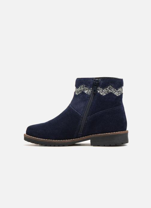 Botines  I Love Shoes KEZIG Leather Azul vista de frente