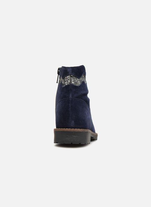 Bottines et boots I Love Shoes KEZIG Leather Bleu vue droite
