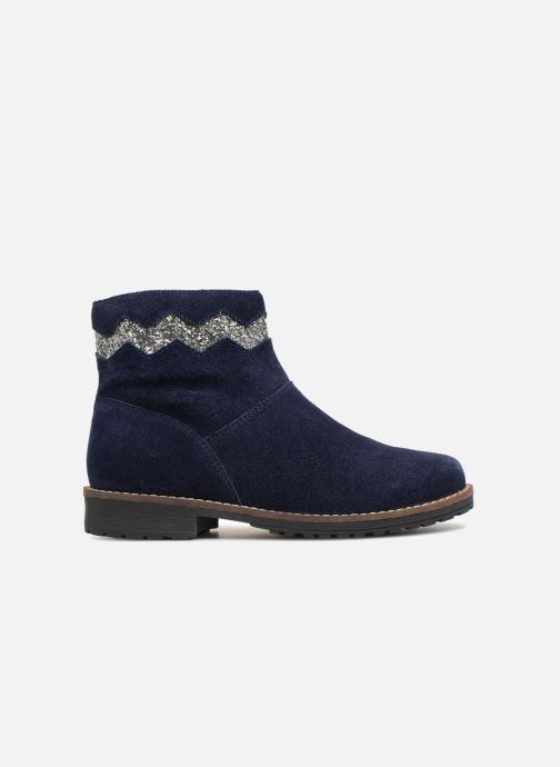 Botines  I Love Shoes KEZIG Leather Azul vistra trasera