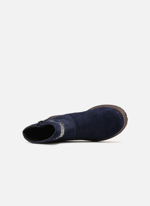 Botines  I Love Shoes KEZIG Leather Azul vista lateral izquierda