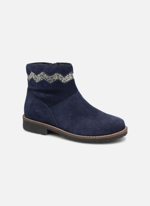Bottines et boots I Love Shoes KEZIG Leather Bleu vue détail/paire
