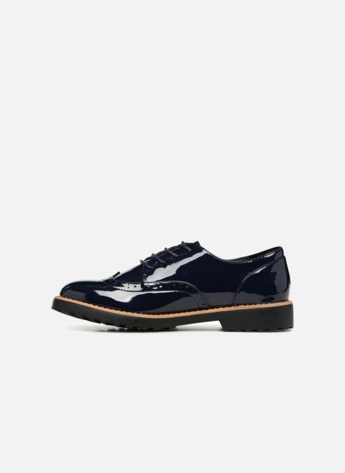 Zapatos con cordones I Love Shoes Gonely Azul vista de frente