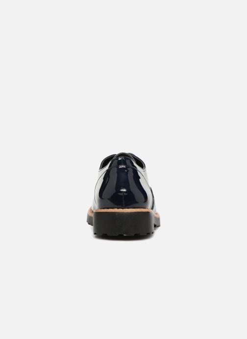 Schnürschuhe I Love Shoes Gonely blau ansicht von rechts