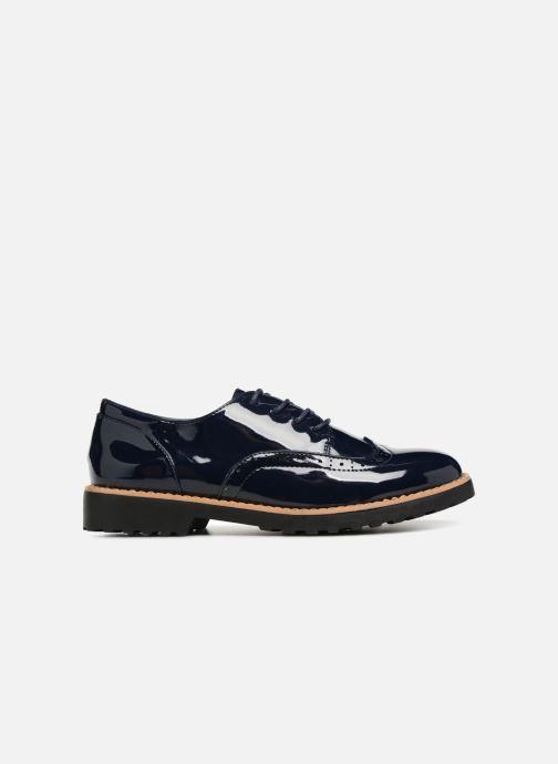 Zapatos con cordones I Love Shoes Gonely Azul vistra trasera