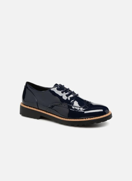 Zapatos con cordones I Love Shoes Gonely Azul vista de detalle / par