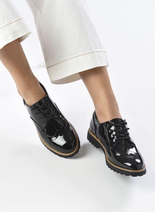 Zapatos con cordones I Love Shoes Gonely Negro vista de abajo