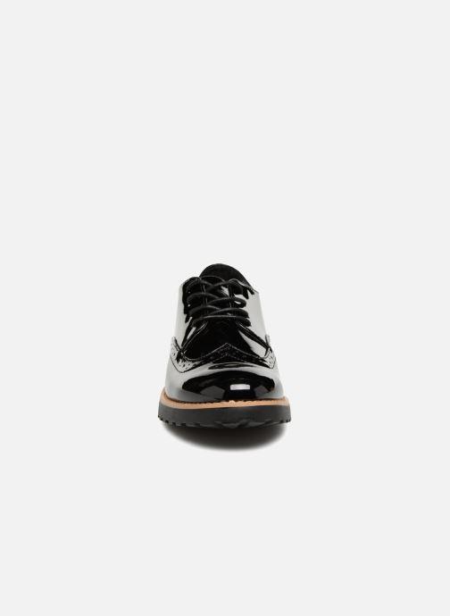 Zapatos con cordones I Love Shoes Gonely Negro vista del modelo