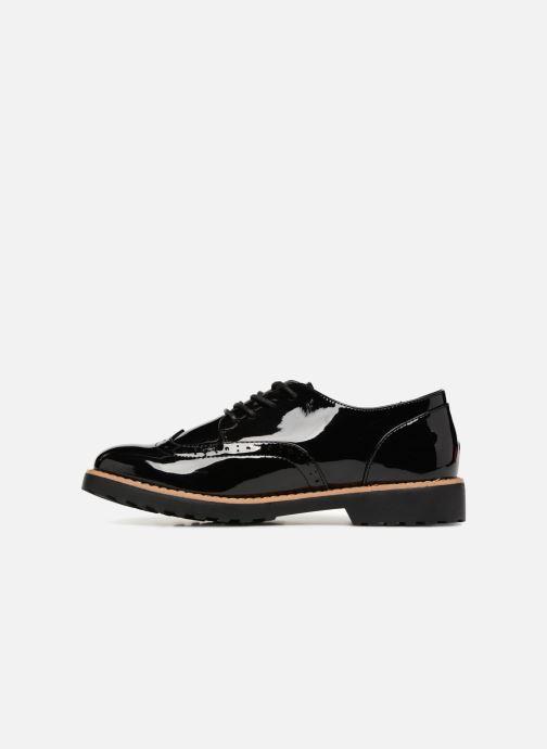 Schnürschuhe I Love Shoes Gonely schwarz ansicht von vorne