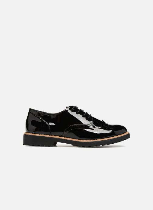 Zapatos con cordones I Love Shoes Gonely Negro vistra trasera