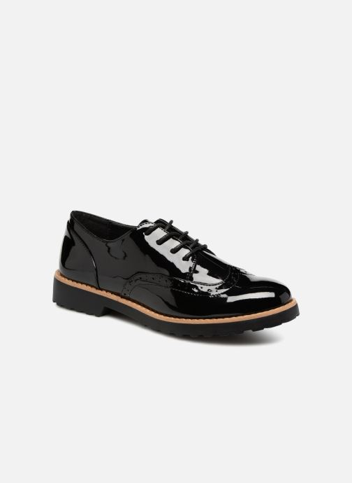 Lace-up shoes I Love Shoes Gonely Black detailed view/ Pair view