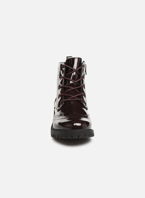 Bottines et boots Vero Moda VMGLORIA ELISE BOOT Bordeaux vue portées chaussures
