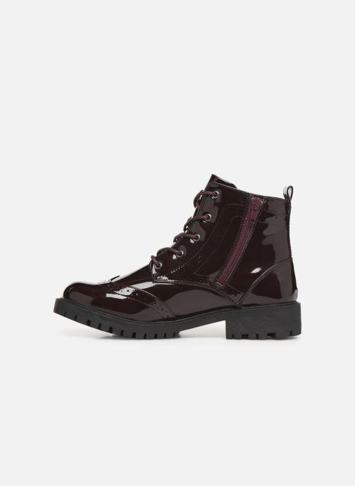 Bottines et boots Vero Moda VMGLORIA ELISE BOOT Bordeaux vue face