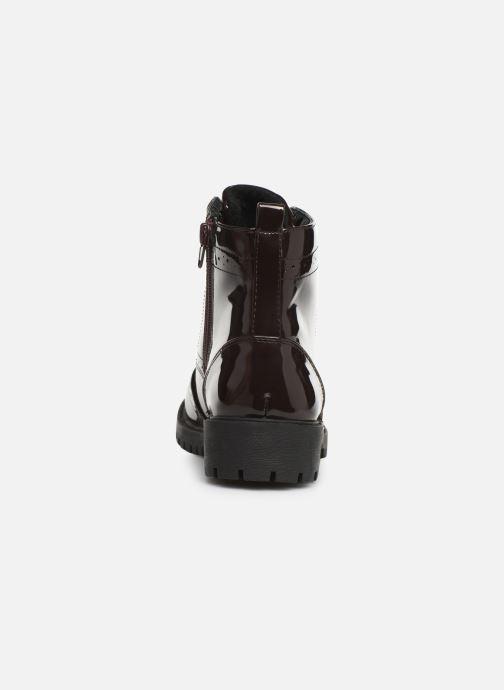 Bottines et boots Vero Moda VMGLORIA ELISE BOOT Bordeaux vue droite