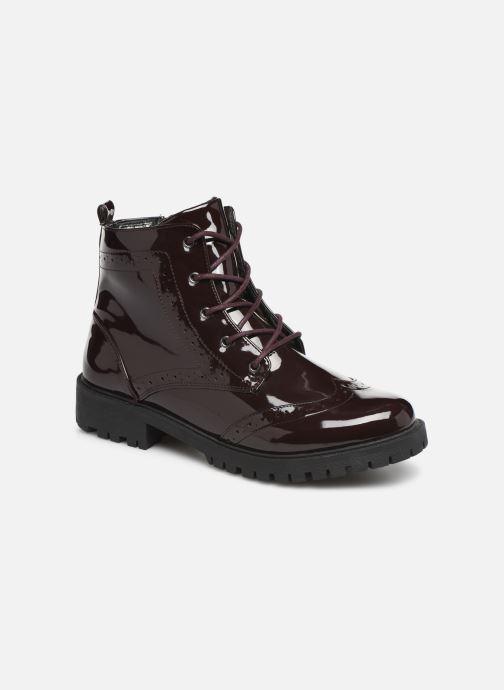 Bottines et boots Vero Moda VMGLORIA ELISE BOOT Bordeaux vue détail/paire