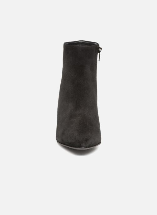 Bottines et boots Vero Moda VMASTRID LEATHER BOOT Noir vue portées chaussures