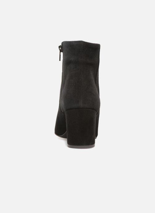 Boots en enkellaarsjes Vero Moda VMASTRID LEATHER BOOT Zwart rechts