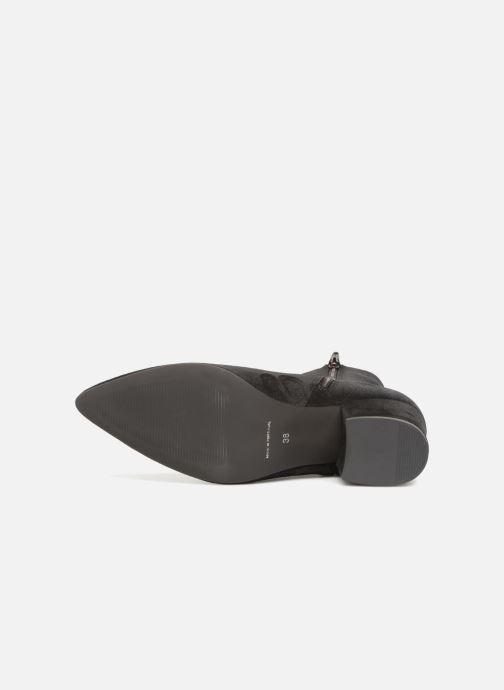 Bottines et boots Vero Moda VMASTRID LEATHER BOOT Noir vue haut
