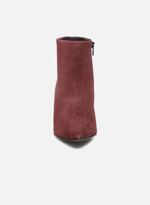 Bottines et boots Vero Moda VMASTRID LEATHER BOOT Bordeaux vue portées chaussures