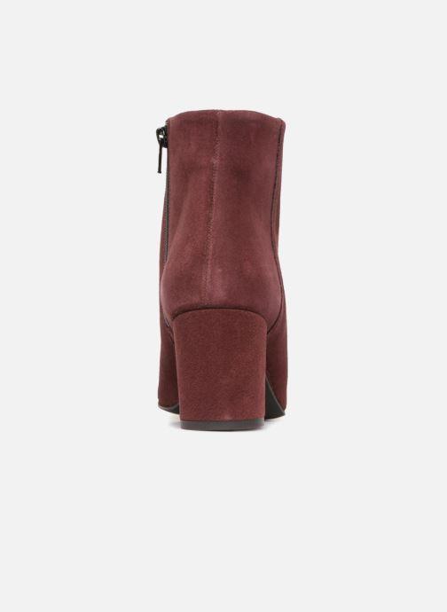 Bottines et boots Vero Moda VMASTRID LEATHER BOOT Bordeaux vue droite